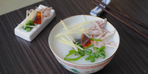 Cantonese style Chinese porridge