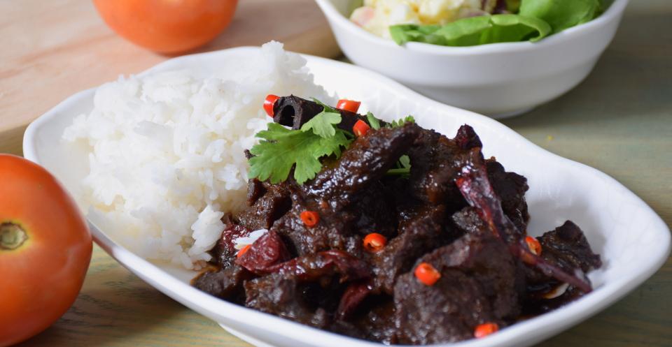 sweet soy sauce beef (daging kicap manis)