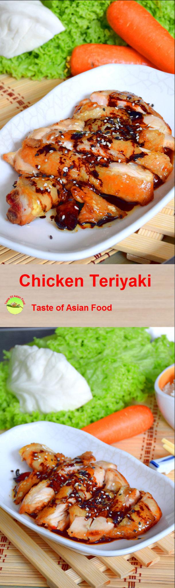 chicken teriyaki recipe pin