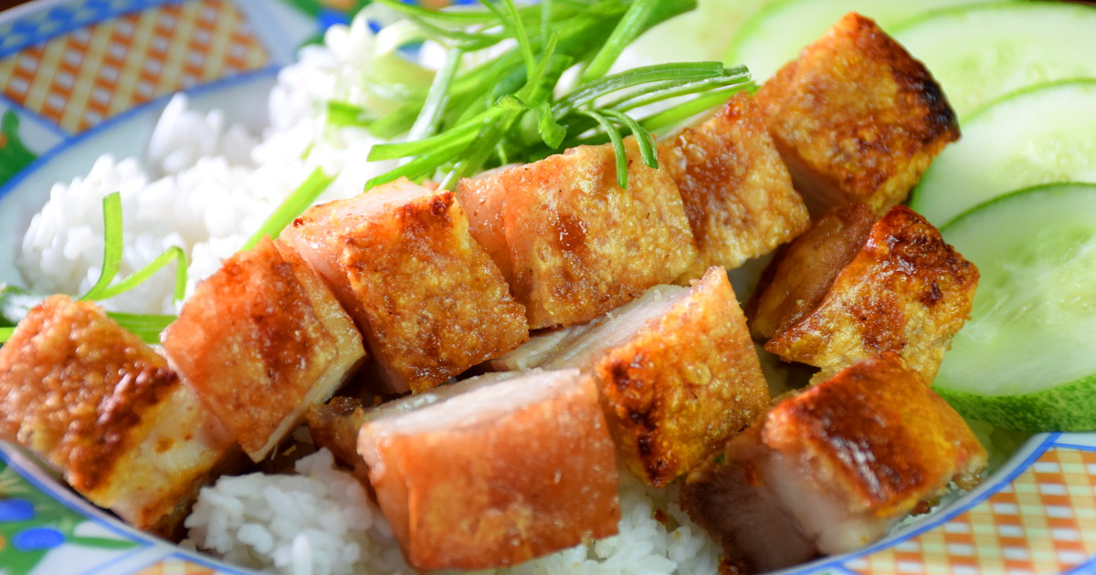 Roast pork belly - how to make Chinese roast pork 烧肉 \/ siew yoke