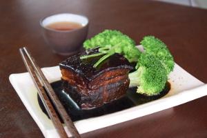 Braised pork belly recipe image