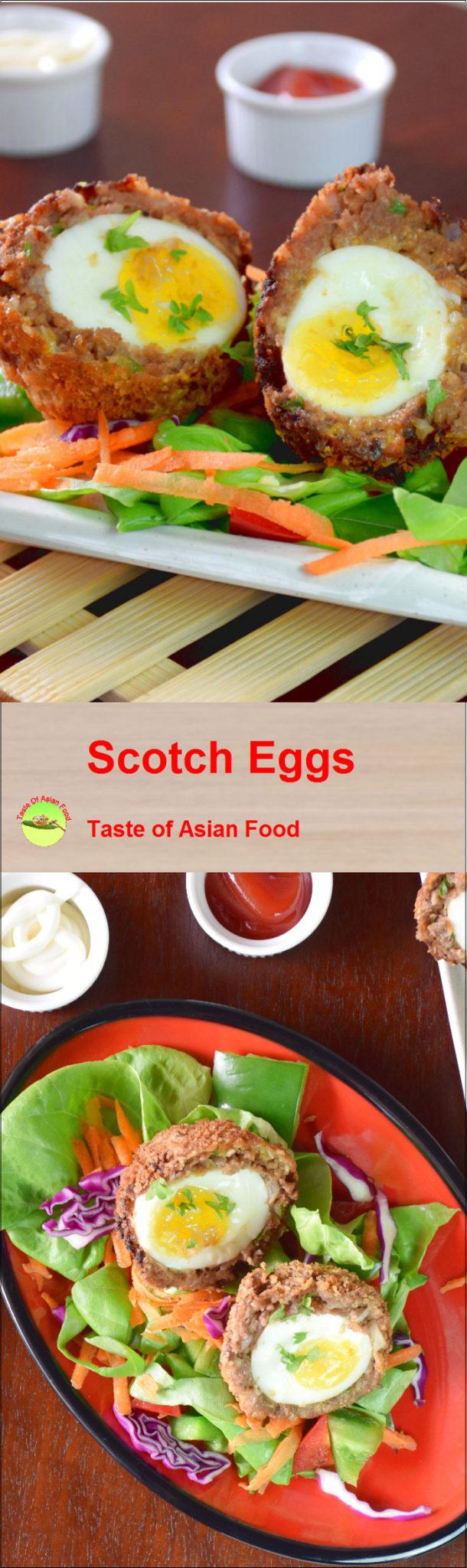Scotch egg pin