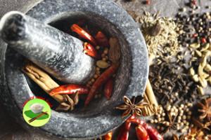 biryani with fresh spices