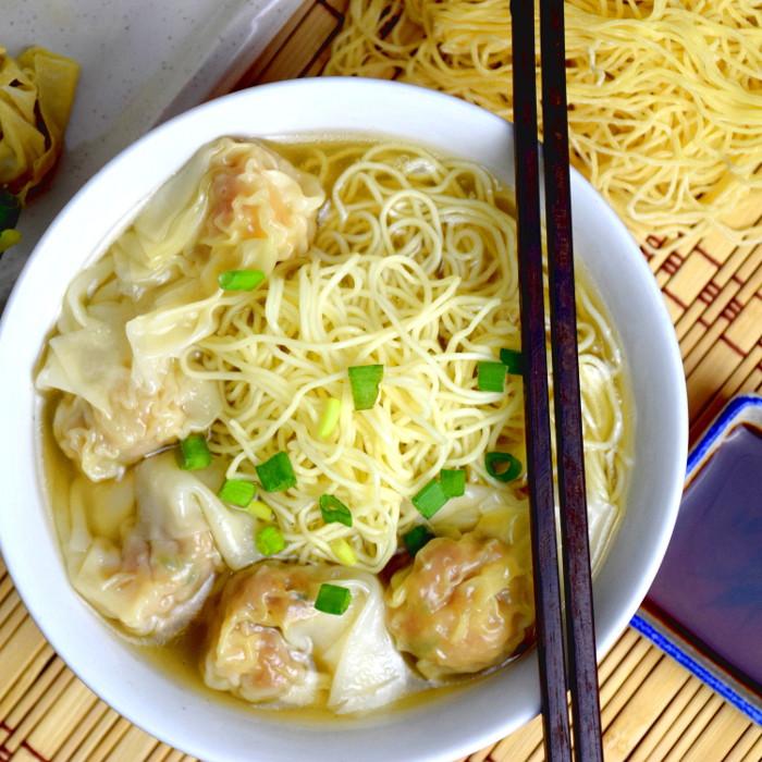 Wonton noodles with wonton