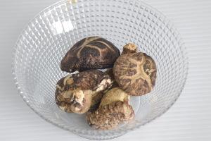 dry mushroom for zongzi