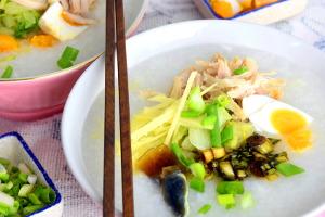 Chinese porridge recipe with lean pork