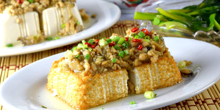 tofu with minced pork recipe
