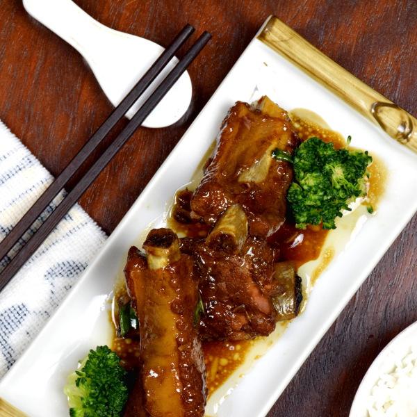 無錫排骨 Chinese spare ribs