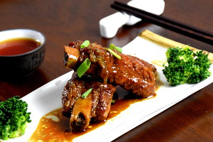 Wuxi pork ribs