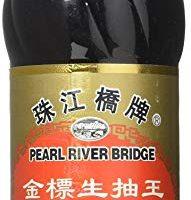 Pearl River Bridge Golden Label  Superior Light Soy Sauce, Plastic Bottles, 16.9 oz