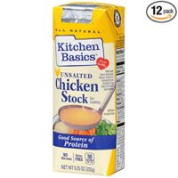 Kitchen Basics No Salt Chicken Stock, 8.25 oz (Pack of 12)