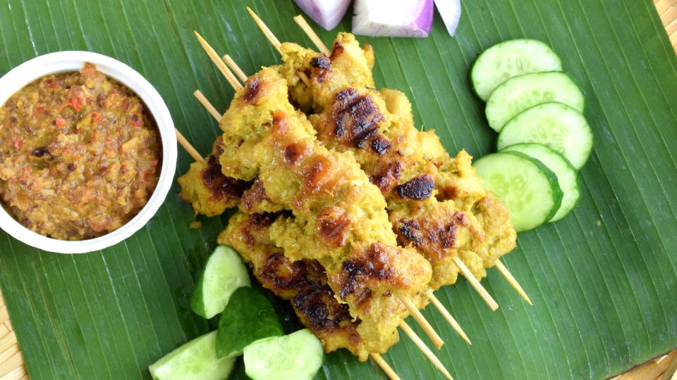 Malaysian satay recipe