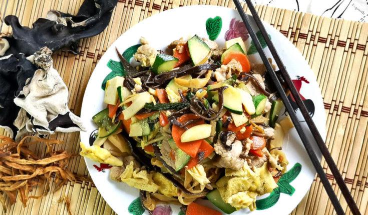 Moo Shu Pork (木须肉)