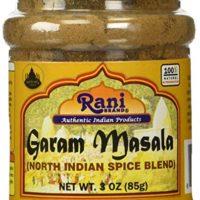Rani Garam Masala Indian 11 Spice Blend 3oz (85g) Salt Free ~ All Natural | Vegan | Gluten Free Ingredients | NON-GMO