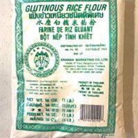 Glutinous Rice Flour 1 LB x 20 Bags 水磨白糯米𥺃粉