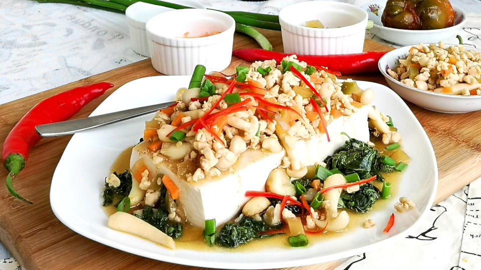 Chinese tofu recipe featured image