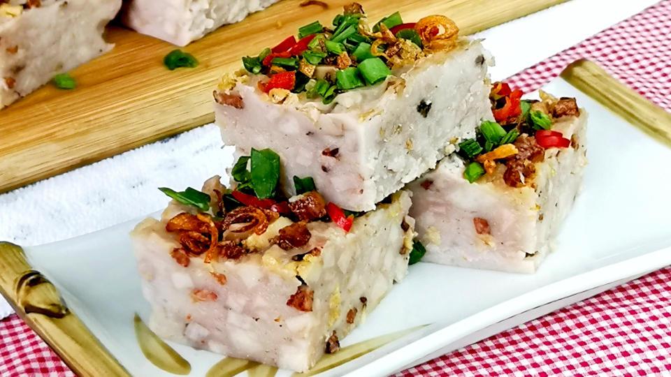 Taro cake featured image