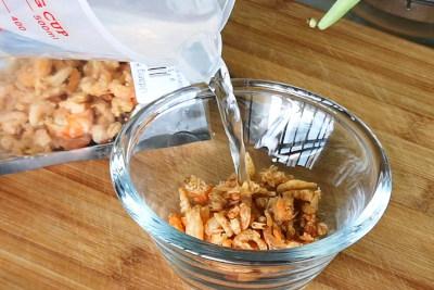 Sauteed green bean - dried shrimp