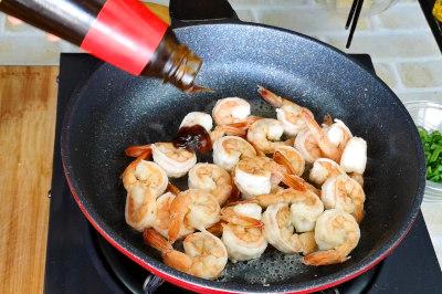 shrimp and asparagu stir fry sesaon shrimp