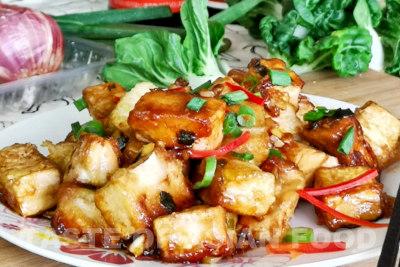 General Tsos tofu - ready to serve