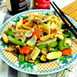 Chap Chye ( stir fry delicious crunchy vegetables)