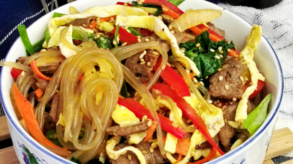 Japchae recipe- How to make the perfect Korean stir-fry noodles