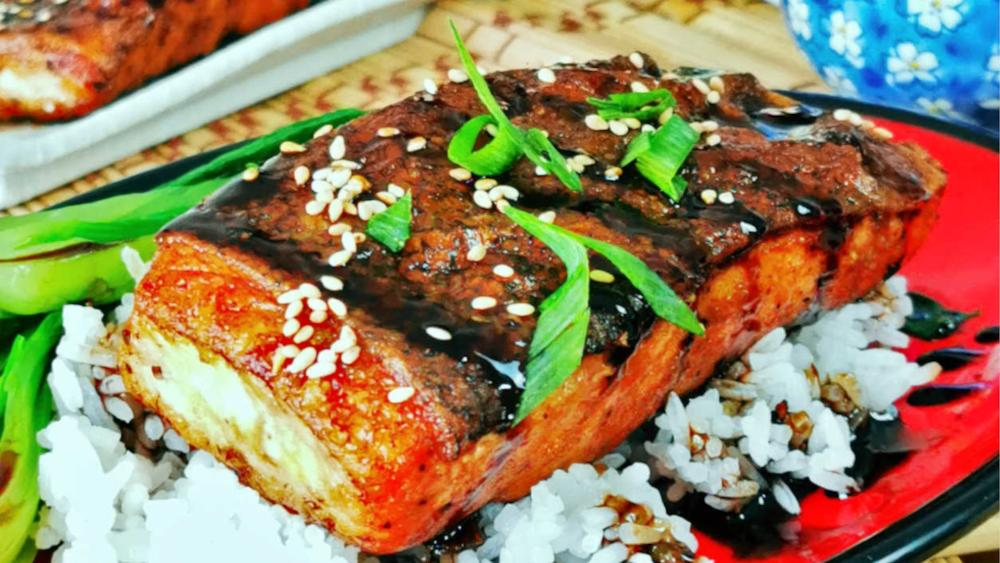 Teriyaki salmon recipe featured image