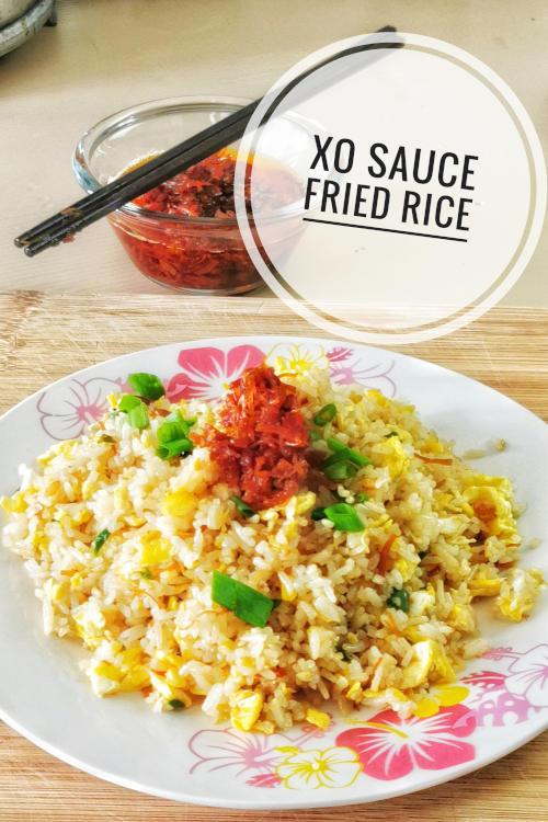 An easy recipe with XO sauce - XO sauce fried rice